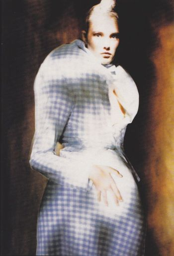 "1997 Comme des Garcons-""Body Meets Dress, Dress Meets Body."" Photographed by Paolo Roversi."