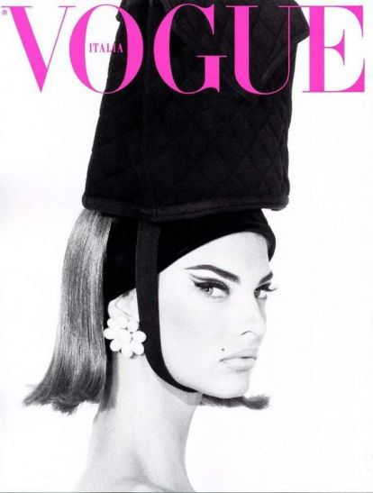 Linda Evangelista for Vogue