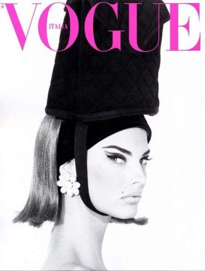 Linda Evangelista for Vogue